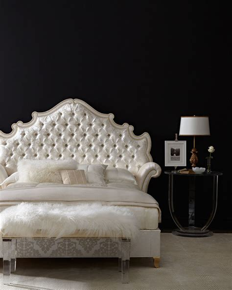 Velvet Headboard King Bed by Tufted California King Bed Ivory Contemporary