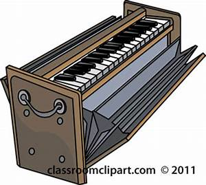 Musical Instruments : harmonium-1311 : Classroom Clipart