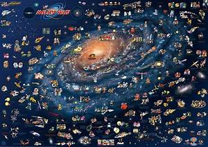 CHILDREN'S MAP OF THE MILKY WAY - Dino's Maps