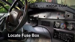 Pontiac Bonneville Fuse Box Located by Fix Antifreeze Leaks 1992 1999 Pontiac Bonneville 1997