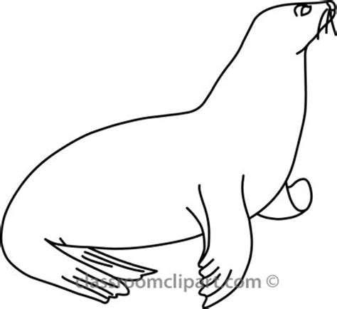 seal clipart black and white animals clipart seal 314 01a outline classroom clipart