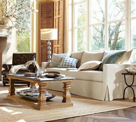 Sutton Coffee Table  Pottery Barn