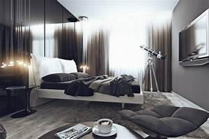 Gardinen Schlafzimmer Modern : das schlafzimmer minimalistisch einrichten 50 schlafzimmer ideen ~ Markanthonyermac.com Haus und Dekorationen