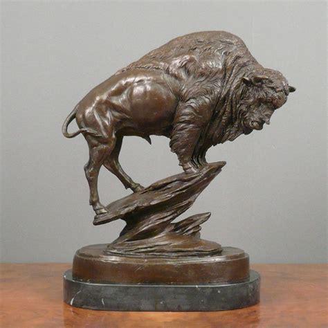 Bronze Sculpture - Bison - Statues