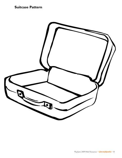suitcase open  side clipart