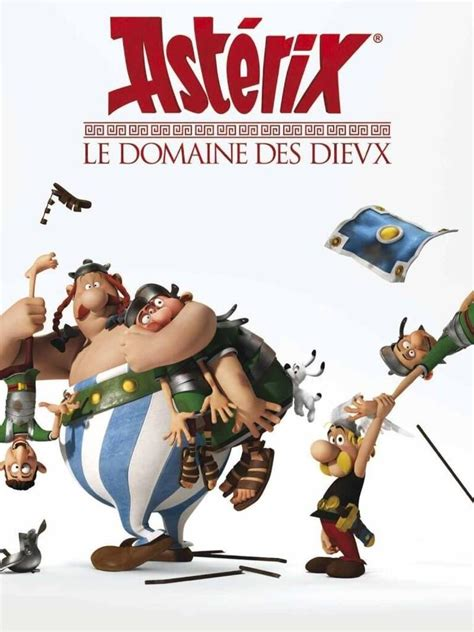 poster    french animated  asterix