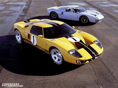 Ford Gt Concepts by 2002 Ford Gt40 Concept Ford Supercars Net
