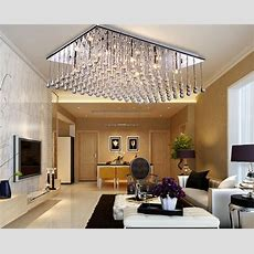 Lifeplus Modern Luxury Chandelier With 12 Led Lights In