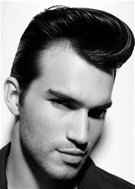 style book pompadour hairstyle  men