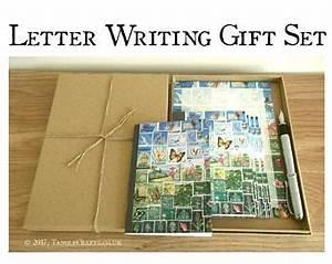 writing gift set etsy With letter writing gift set