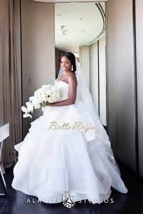 vera wang bridesmaid dress so beautiful tiwa savage billz 39 dubai wedding trailer bellanaija