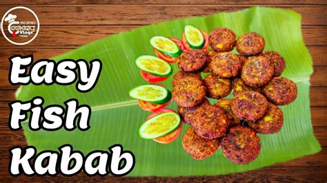 Fish kabab | Easy Fish kabab recipe | Bahraini food ...