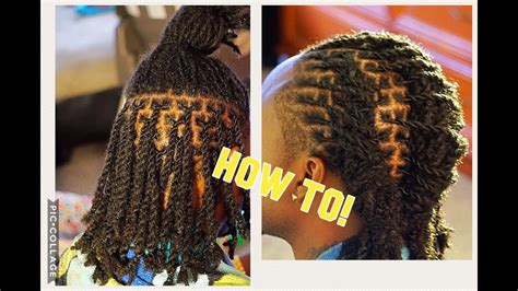 162+ 3 Strand Twist Dreads Men