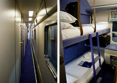 Sleeper Berth Layout by The Caledonian Sleeper A On The Rails On The Luce