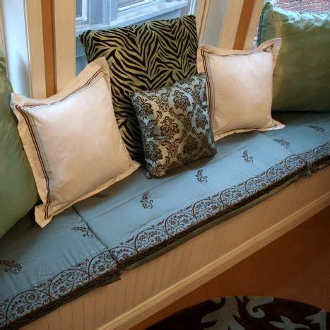 sew window seat cushions craft room update
