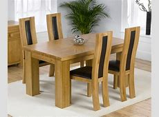 Solid Oak Dining Table And Chairs Marceladickcom