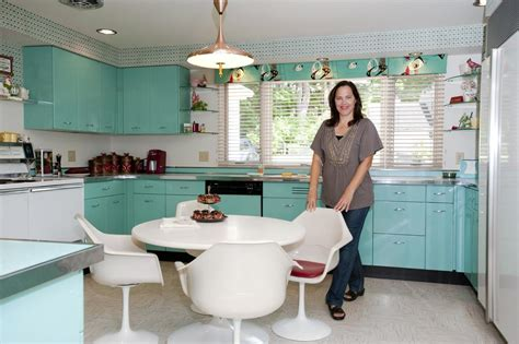 50s retro kitchen cabinets decobizz