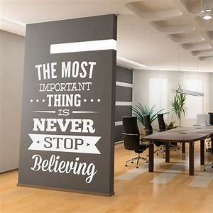 Wall decal quotes inspirational office art