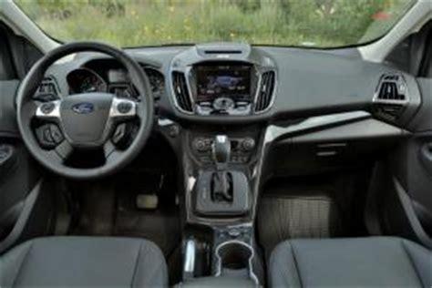 2014 Ford Escape Interior Dimensions by 2014 Ford Escape Vs 2014 Hyundai Santa Fe Sport Car Reviews