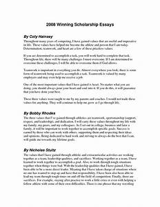 how to write a winning scholarship essay scholarships With award winning cover letters