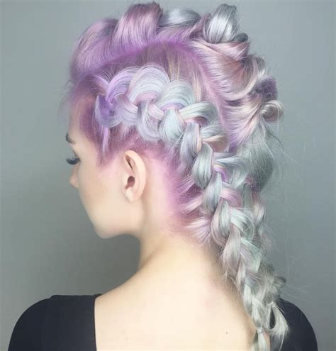 A Fairy Tale Come True Delicate Pastel Hair Color And