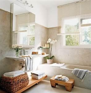 Decoration De Salle De Bain : la salle de bain moderne 12 idees simple et chic bricobistro ~ Teatrodelosmanantiales.com Idées de Décoration