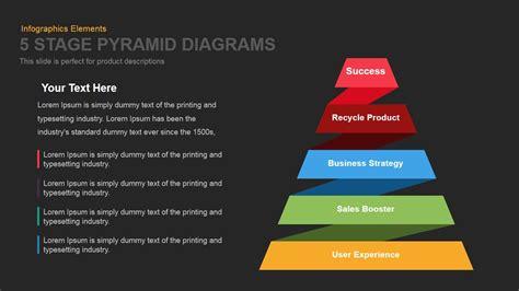5 stage pyramid diagrams powerpoint template and keynote slide slidebazaar