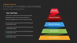 5 Stage Pyramid Diagrams Powerpoint Template And Keynote