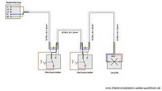 badezimmer rollo schaltplan einer wechselschaltung elektroinstallation selber ausführen