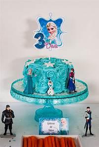 Gateau Anniversaire Reine Des Neiges : sweet table anniversaire reine des neiges lilie bakery ~ Melissatoandfro.com Idées de Décoration