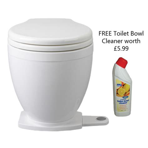 Boat Cleaner Toilet Bowl by Jabsco Lite Flush Toilet With Foot Switch Marine