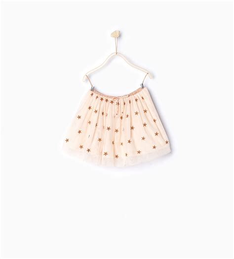 Zara Mode Kinder by Zara Kinder T 252 Llrock Mit Stickerei Zara Zara