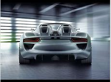 Porsche 918 rear wallpapers Porsche 918 rear stock photos