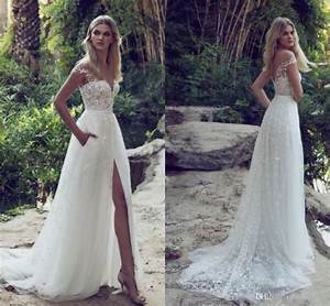 boho sexy summer beach a line wedding dresses 2017 off the With boho wedding dress beach