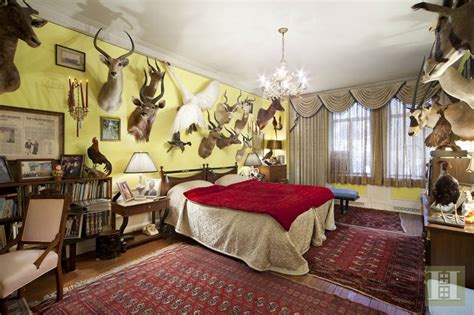 guilfoyle kimberly apartment central west park animals host buys 4m taxidermied fox 6sqft suites each bedroom master there