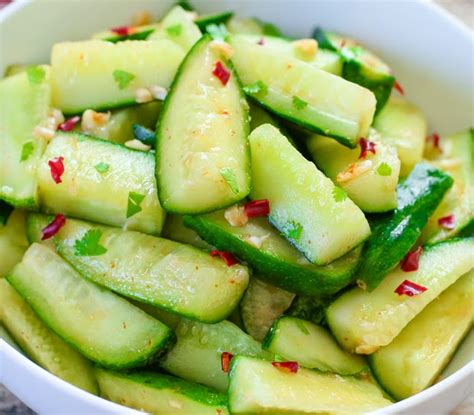 cucumber recipe chinese cucumber salad recipe dishmaps
