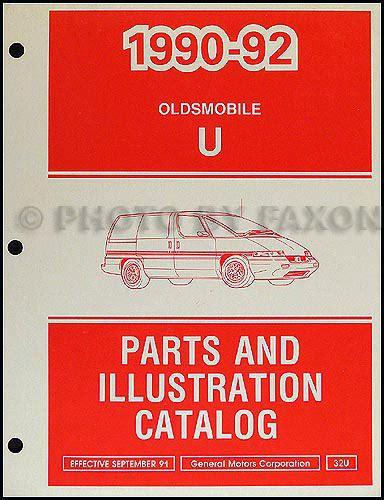 book repair manual 1992 oldsmobile silhouette electronic valve timing 1992 oldsmobile silhouette van repair shop manual original