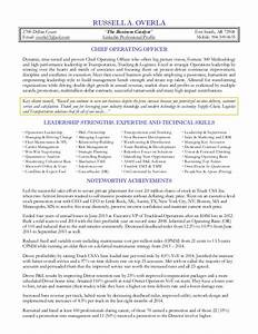 overla russell coo resume 2015 With coo resume