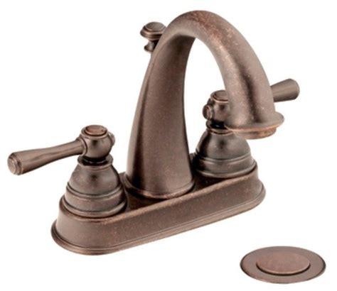 moen kingsley faucet rubbed bronze moen 6121orb kingsley two handle lavatory faucet with
