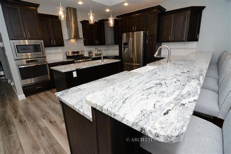 white granite countertops 8 kitchen countertops design trends in 2018