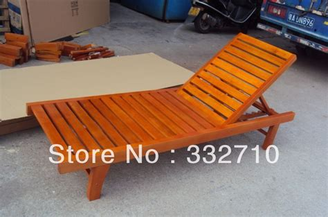 solid wood chair folding chaise lounge outdoor chair