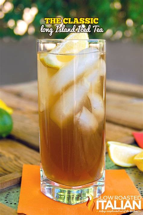 island iced tea mix the classic long island iced tea drinks pinterest sour mix classic and simple syrup