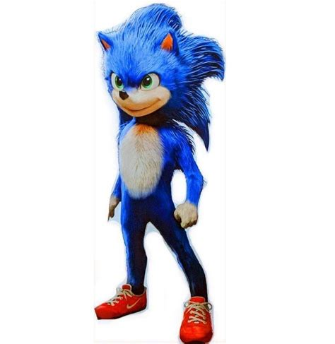 This Is What Sonic The Hedgehog Probably Looks Like In His ...