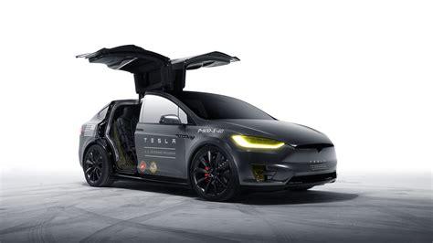 Model X Tesla Motors Wallpaper