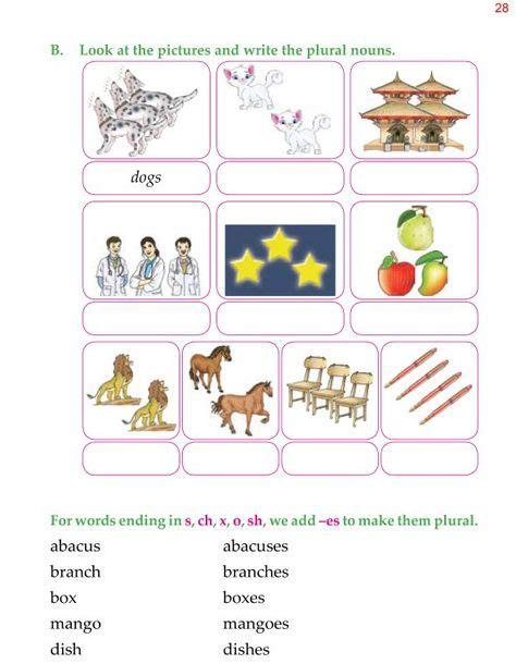 nouns plural    images plurals singular