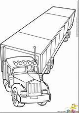 Coloring Truck Semi Pages Mack Rig Trailer Wheeler Trucks Drawing Log Logging Printable Dump Clipart Lifted Getcolorings Cars Getdrawings Boys sketch template