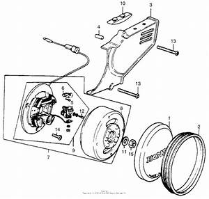 Generator   Cover For Honda Mr50