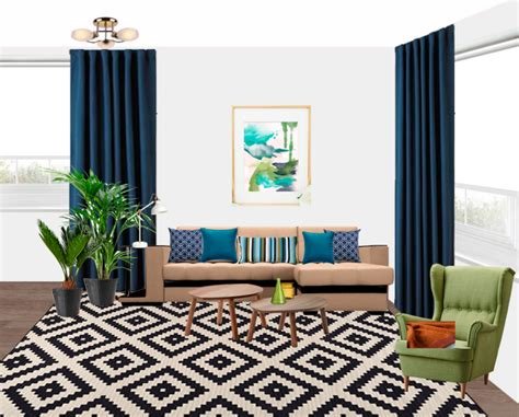 Navy Blue Living Room Curtains How To Make Lined Curtains With Tabs Silent Gliss Curtain Track Brackets What Color Match Red Walls J Queen New York Citron Shower Does The Iron Symbolize Colette In Silver Light Blue And Brown Hang Panels On French Doors