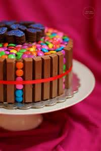 kit kat cake kit kat and gems cake birthday cake for