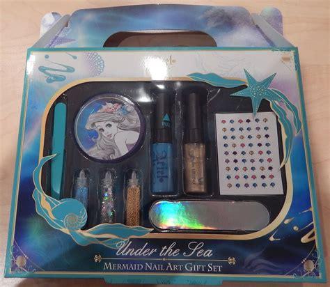 disney ariel   sea mermaid nail art gift set ebay